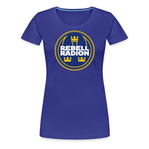 Rebellradion 2016 - Premium-T-shirt dam