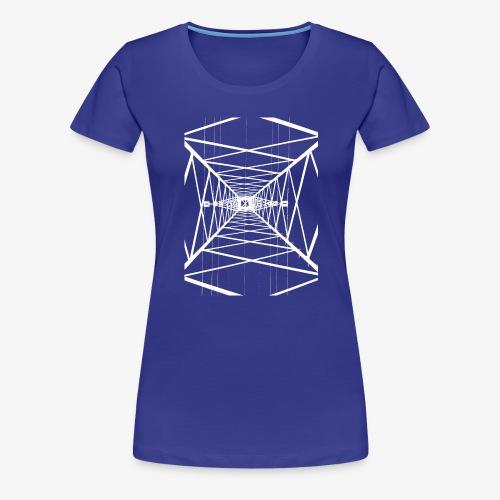 Hochmast V2 Weiß - Frauen Premium T-Shirt