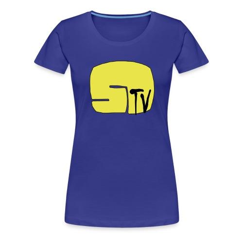 Stupidovizion Logo - Frauen Premium T-Shirt