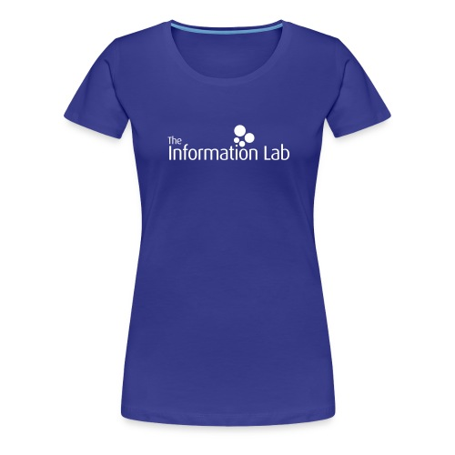 Info Lab Logo White - Women's Premium T-Shirt