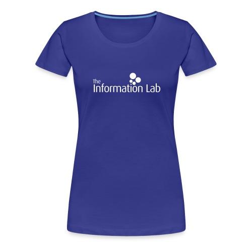 Info Lab Logo White - Women's Premium T-Shirt