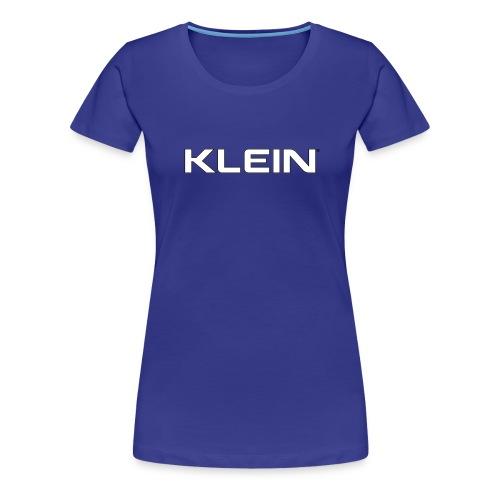 kleinschriftzug - Frauen Premium T-Shirt