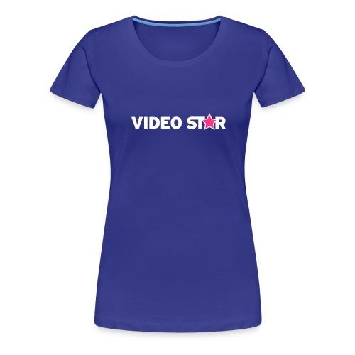 vs tee text 73x13b - Women's Premium T-Shirt