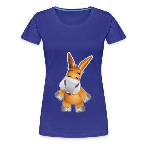 Esel stehend - Women's Premium T-Shirt