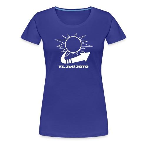 11juli2010_w - Frauen Premium T-Shirt