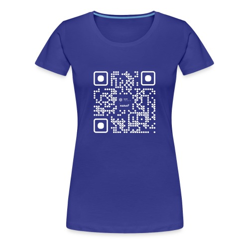 QR - Maidsafe.net White - Women's Premium T-Shirt
