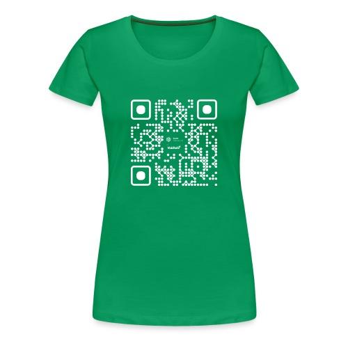 QR - Maidsafe.net White - Women's Premium T-Shirt