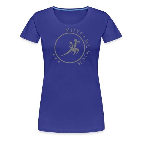 MJive dancers gray solid - Frauen Premium T-Shirt
