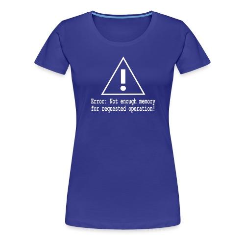 Error Nerd - Frauen Premium T-Shirt