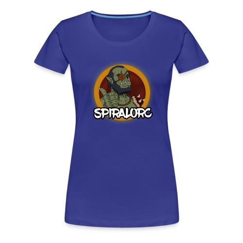 Spiral Orc NO BG - Women's Premium T-Shirt