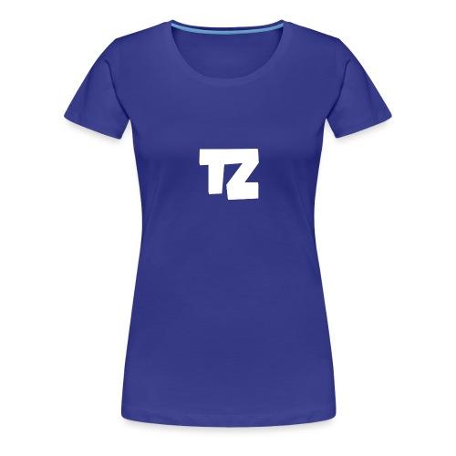 Trizex Logo Groot - Vrouwen Premium T-shirt