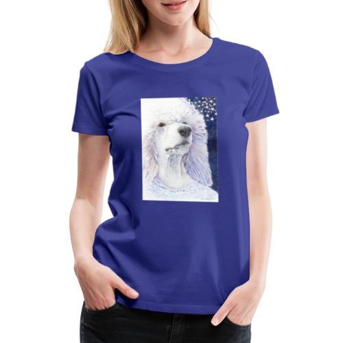 Poodle DreamDog - Dame premium T-shirt