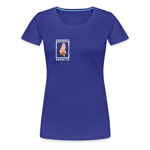 Snørråte Kassetta - Premium T-skjorte for kvinner