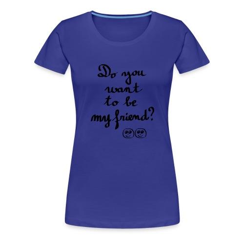 Rencontre amicale - T-shirt Premium Femme