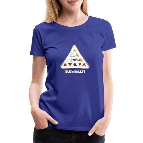 ILLUMINATI - T-shirt Premium Femme