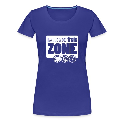 Halloweenfreie Zone - Frauen Premium T-Shirt