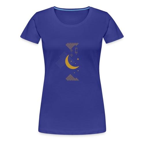 Ramadan Kareem Muslim holy month ilustration - Women's Premium T-Shirt