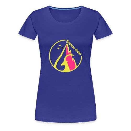Tyrolean Rebel Logo - Frauen Premium T-Shirt