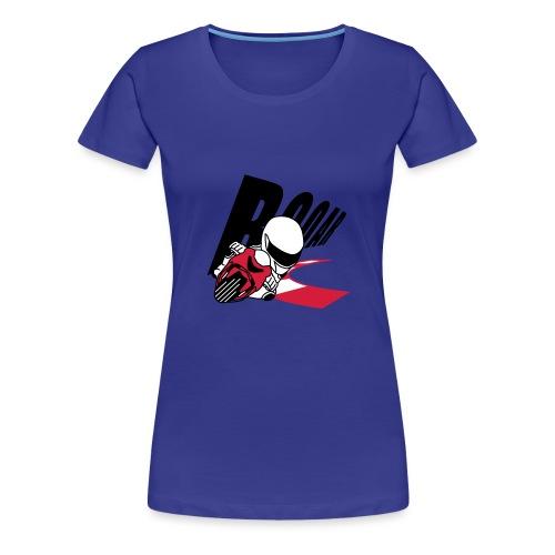 MOTO GP ROAR - Frauen Premium T-Shirt