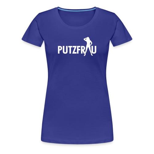 putzfrau - Frauen Premium T-Shirt
