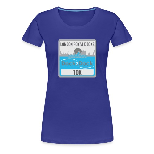 DOCK 2 DOCK CLASSIC BADGE - Women's Premium T-Shirt