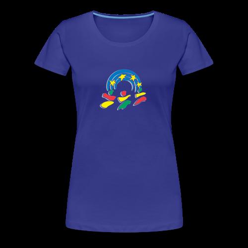 yen logo - Women's Premium T-Shirt