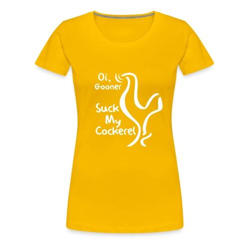 suckmycockerel1 - Women's Premium T-Shirt
