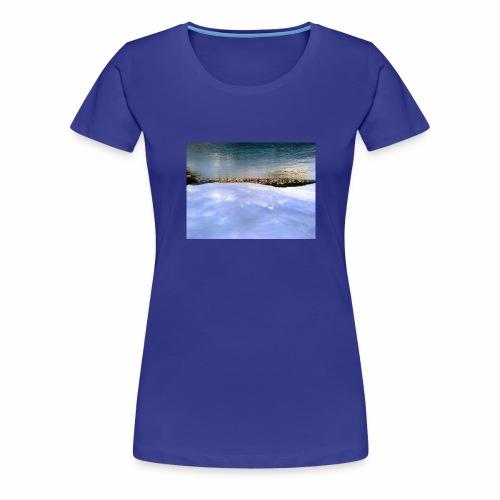 over the sea - Frauen Premium T-Shirt