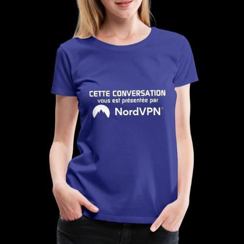 Nord VPN - T-shirt Premium Femme
