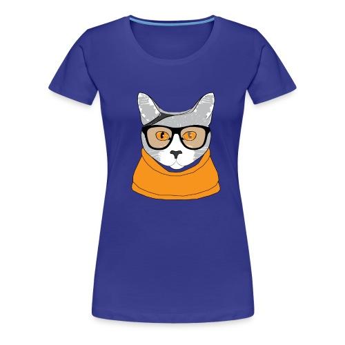 Cat - T-shirt Premium Femme