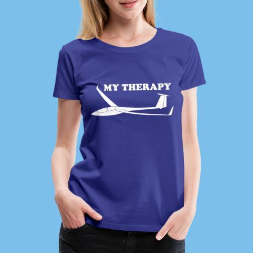 Therapie Segelflieger gleiten Segelflugzeug - Frauen Premium T-Shirt