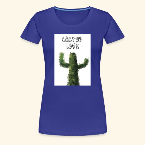 Cactus Love - Maglietta Premium da donna