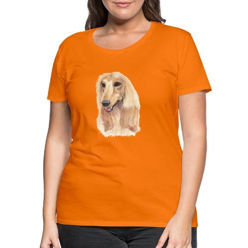 afghanskMynde- A - Dame premium T-shirt