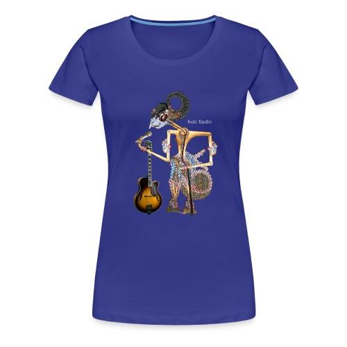 wayangtest witte letters png - Vrouwen Premium T-shirt