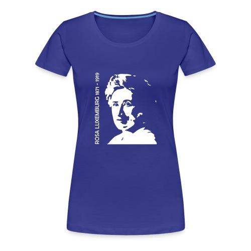 Rosa Luxemburg 18x20 - Premium-T-shirt dam