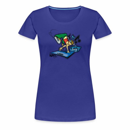breaker part 2 colors edt fresh86 - Dame premium T-shirt