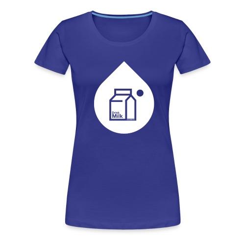 milk w - Women's Premium T-Shirt