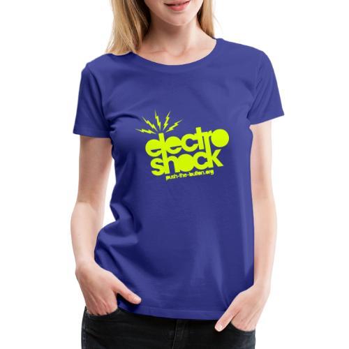 electroshock - Women's Premium T-Shirt