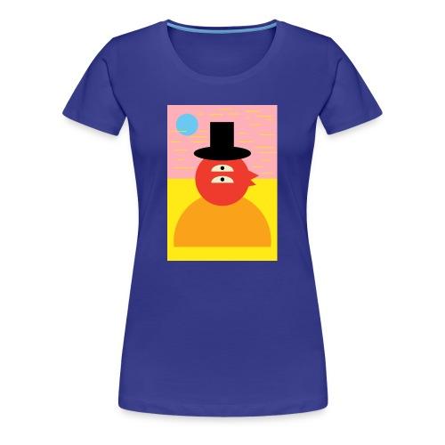 duckie - Women's Premium T-Shirt