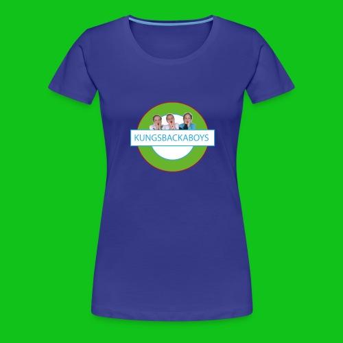 Kungsbackaboys Vattenflaska - Premium-T-shirt dam