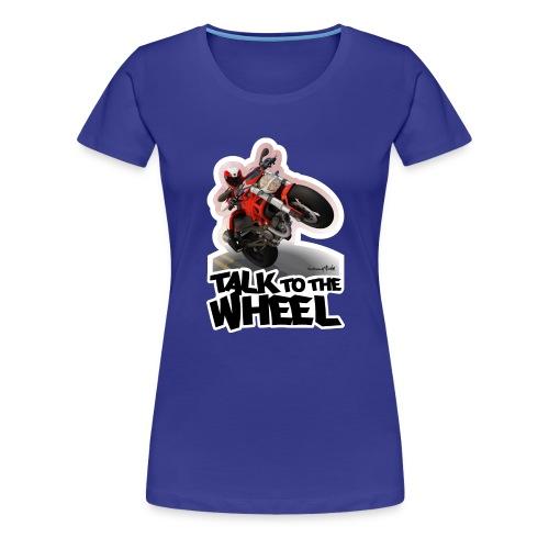 Ducati Monster Wheelie B - Camiseta premium mujer