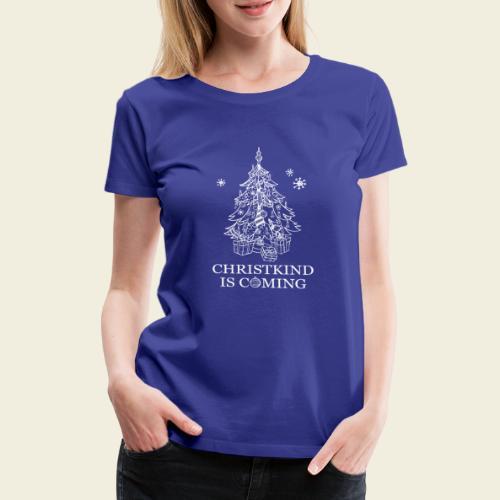 Christkind neu weiss - Frauen Premium T-Shirt