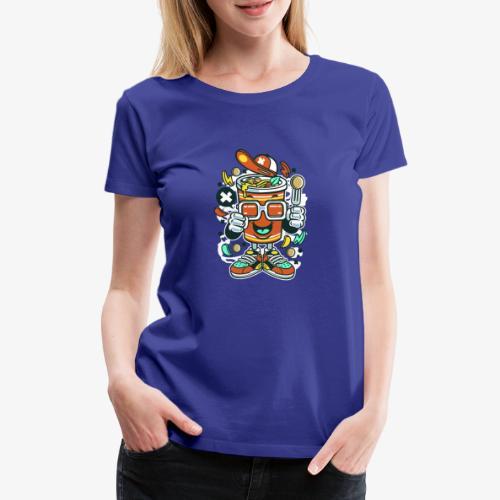 Coupe de nouilles - T-shirt Premium Femme