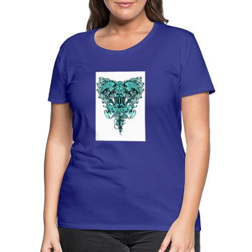 tee template426 - T-shirt Premium Femme