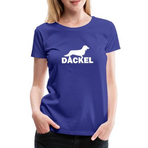 Dackel - Frauen Premium T-Shirt