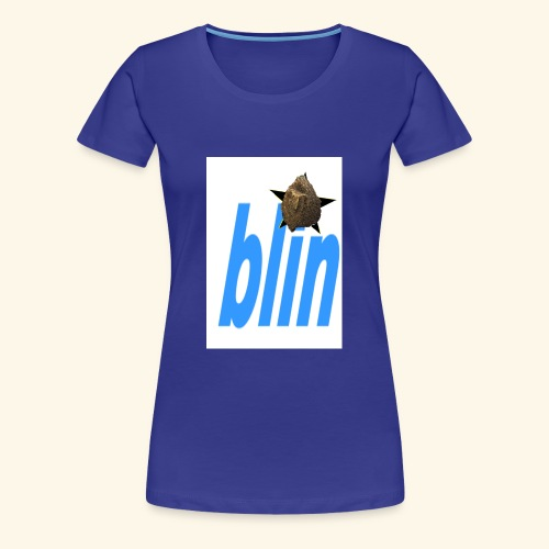 blinfont - Women's Premium T-Shirt