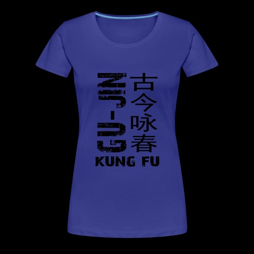 Black Logo Student 1-4 - Women's Premium T-Shirt