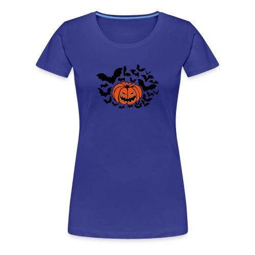 Pumpkin Bats - Women's Premium T-Shirt