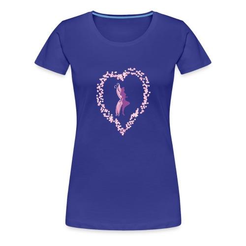 coeur de fée - T-shirt Premium Femme