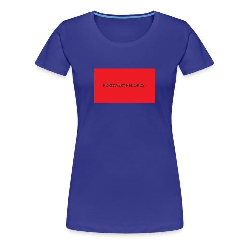 porowsky records kassettenbandt 2016 shirt - Premium-T-shirt dam